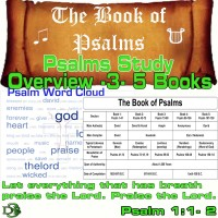 The Book of Psalms Study – Overview – Part 3 – 5 Books in One