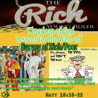 Kingdom of God Lessons for the Well-off and Comfortable – Part 2 – What NOT To-do