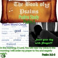 Psalms Study – Book 1 – Psalm 5