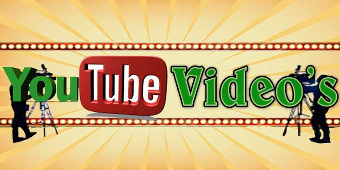 News, Events & YouTube Video's
